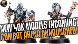 Glorious new 40k Models and Combat Game!