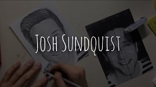 2 Minute Josh Sundquist Drawing Timelapse