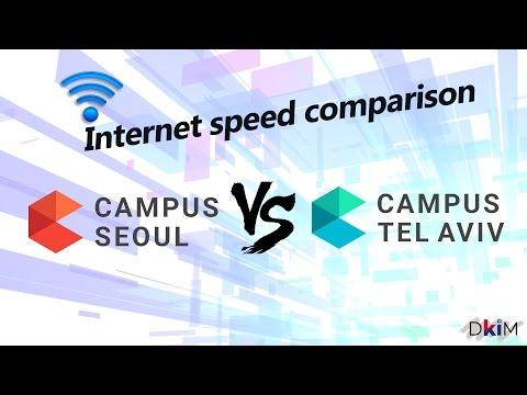 How Fast is Korea's Internet | 한국인터넷이 얼마나 빠를까?