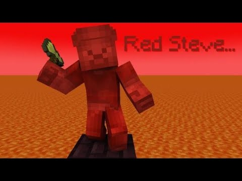 The Story Of Red Steve - Minecraft thumbnail