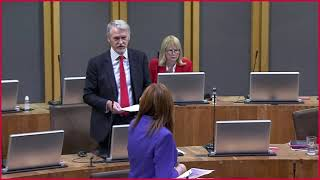 Questions to the Welsh Government Minister for Environment - Plenary 5th October 2021