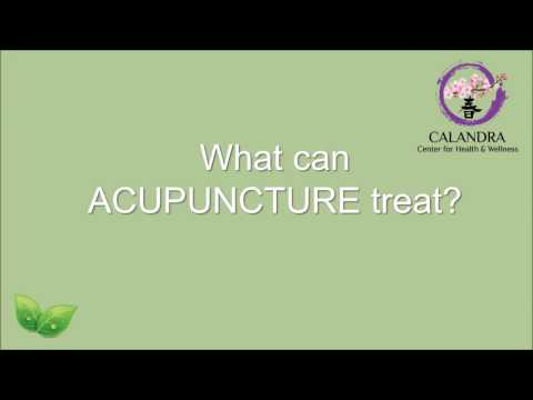 What Can Acupuncture Treat? Call Calandra Center for Health and Wellness | Acupuncture Chicago