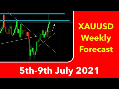 XAUUSD Weekly Forecast 5th-9th July 2021 Bullish Gold Technical Analysis Forex Trading #xauusd