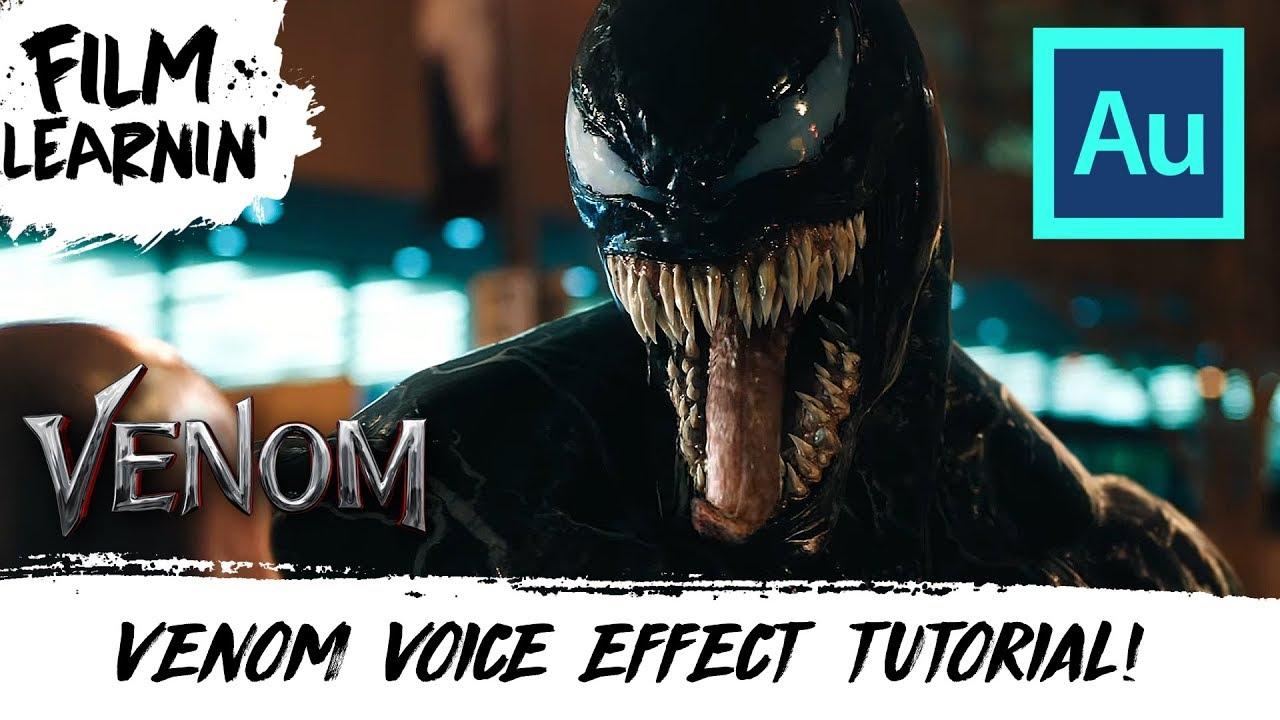 Venom Voice Effect Adobe Audition Tutorial! | Film Learnin