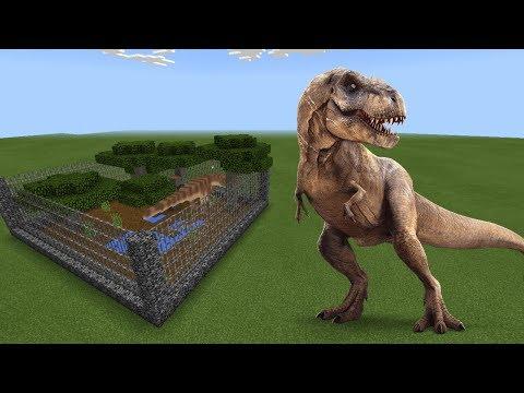 How To Make a DINOSAUR Farm in Minecraft PE