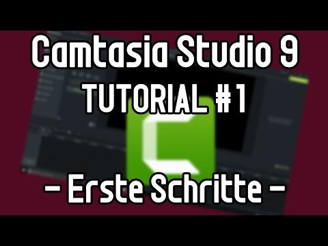Camtasia Studio 9 Tutorial #1 : Einführung | Videos Schneiden | Erste Schritte