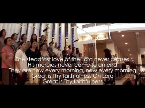 As We Gather / The Steadfast Love of the Lord OLPS OCDC