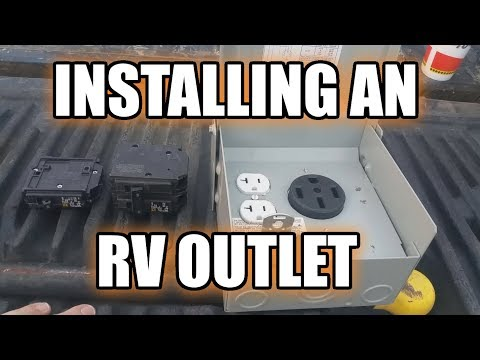 50 amp rv power hookup