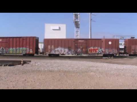BNSF General Freight Tulsa, OK 11/13/16 vid 4 of 5