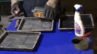 видео Формочки своими руками для тротуарной плитки: материалы и способы изготовления