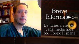 Breve Informativo - Noticias  Forex del 18 de Mayo 2018