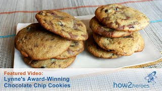 Lynne's Award-winning Chocolate Chip Cookies