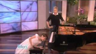 An 8-Year-Old Acrobat Pianist on Ellen Degeneres