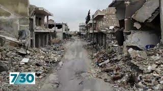 Syria civil war entering devastating final phase | 7.30