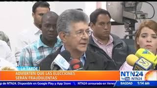 Oposición y Gobierno venezolano continúan diálogo en República Dominicana este lunes