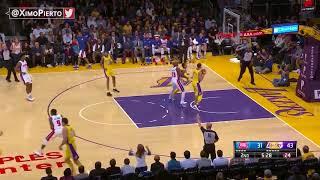 Detroit Pistons vs LA Lakers - Full Game Highlights   October 31, 2017   2017-18 NBA season