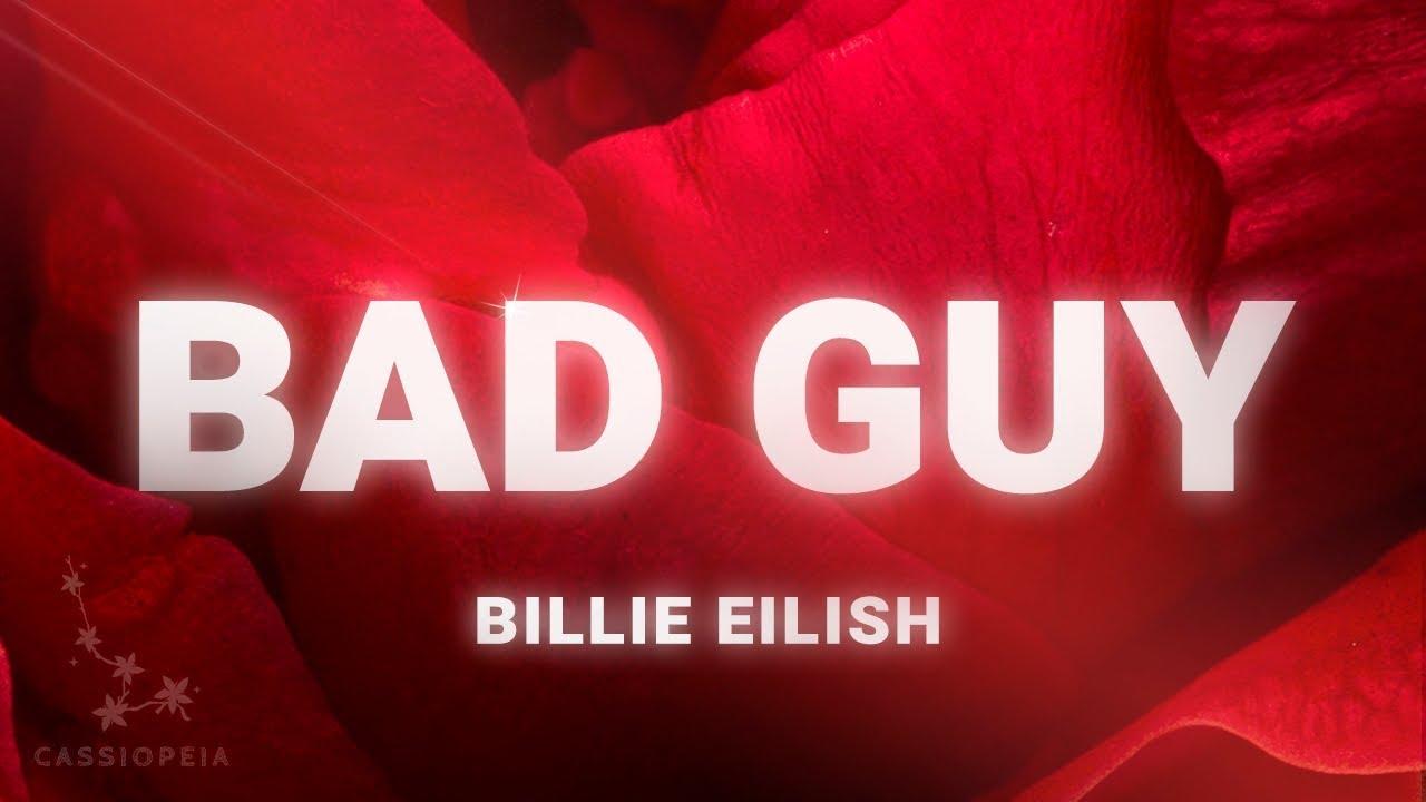 Billie Eilish Bad Guy Lyrics Youtube