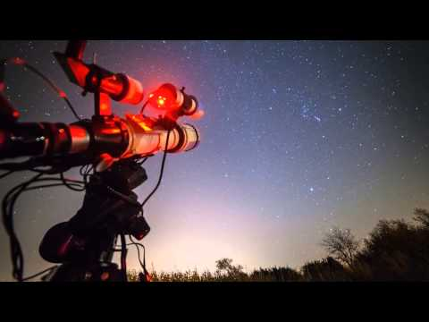 Astrophotography intro video, Photo & Film Expo 2013, Johannesburg, South Africa