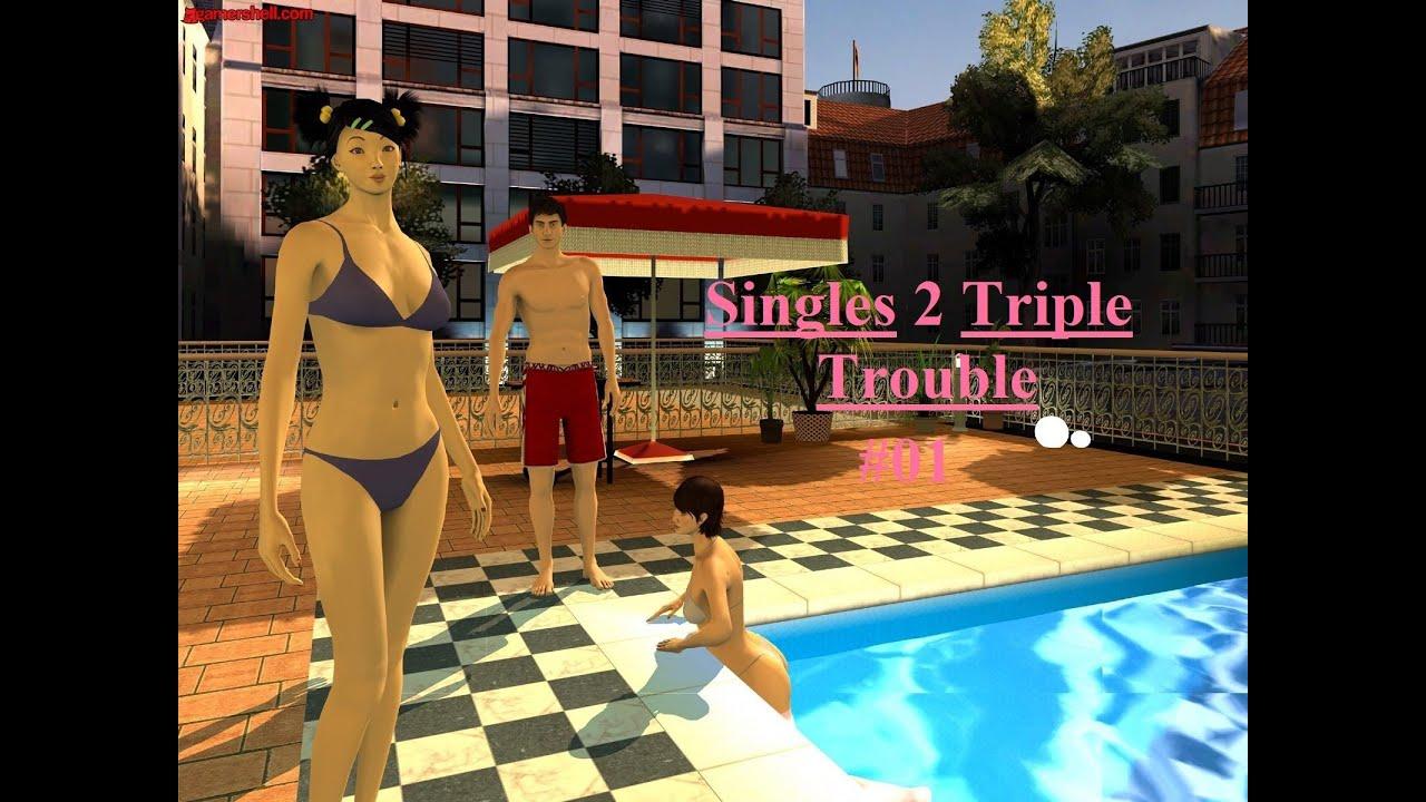 Singles 2 Triple Trouble Anna Meets Josh Part 1 - YouTube