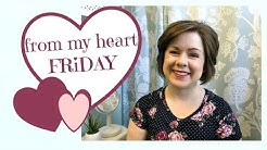 From My Heart Friday | Favorites | Daily Cleaning Routine | Q&A