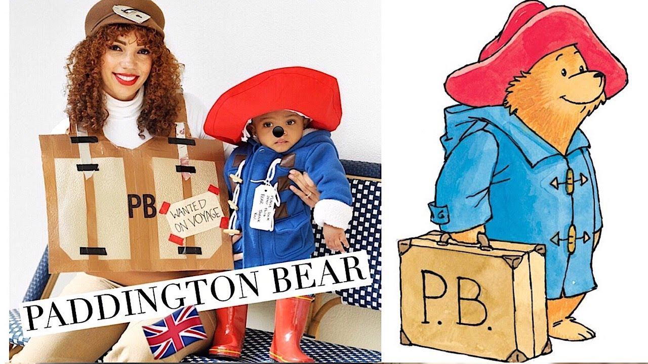 paddington bear | mommy & me halloween #diy - youtube