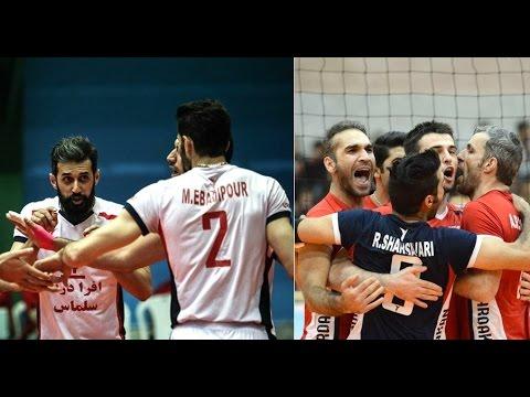 Arman Ardakan 3 - 2 Shahrdari Urmia | Iran Volleyball Super League 2015/16