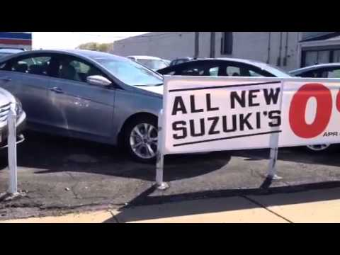 Oliver Signs Creates Banners for Ganley Suzuki - YouTube