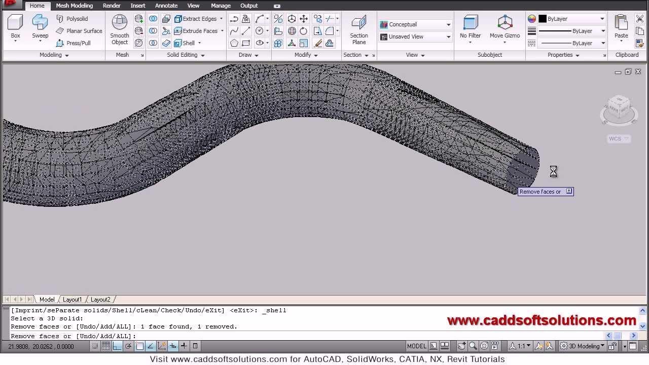 autocad 3d sweep command tutorial autocad 2010 youtube rh youtube com AutoCAD 3D Basics 3D Modeling AutoCAD Commands