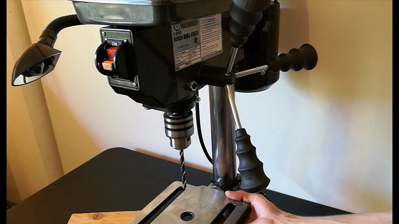 Harbor Freight Drill Press Review