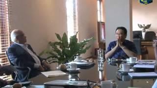 10 Jan 2013 Wagub Bpk. Basuki TP. menerima Michael Manufandu & Prof.Dr. Dorotjatun Kunjtjoro Jakti