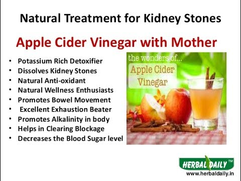 How To Dissolve Kidney Stone Naturally Home Remedies Youtube