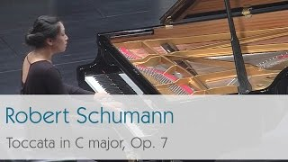 Robert Schumann - Toccata in C major, Op. 7 - Zheeyoung Moon