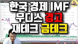 $267 한국 경제 IMF, 무디스 경고 / 재테크 금…
