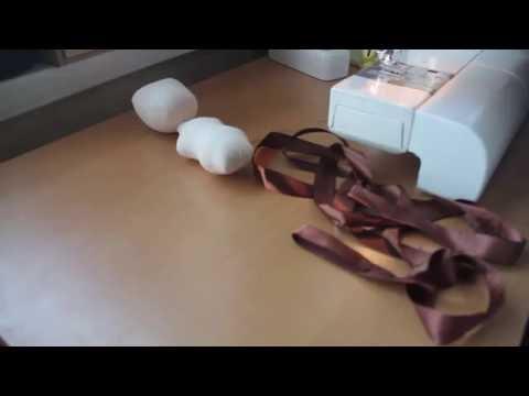видео: Как сделать волосы для куклы из атласной ленты