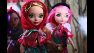 Ever After High - A travez del bosque stop motion