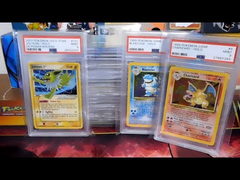 Pokemon PSA / Beckett Collection (Base Set / Fossil / Autographed / Gold Star)