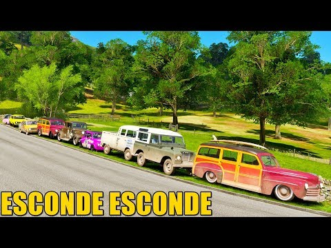 ESCONDE ESCONDE COM O CARROS MAIS LENTOS DO JOGO - FORZA HORIZON 4 ONLINE - GAMEPLAY thumbnail