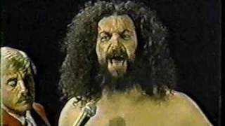 Bruiser Brody really is a Bad Ass! A truthful interview to say the least!