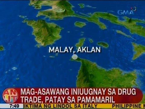 UB: Mag-asawang iniuugnay sa drug trade, patay sa pamamaril sa Malay, Aklan