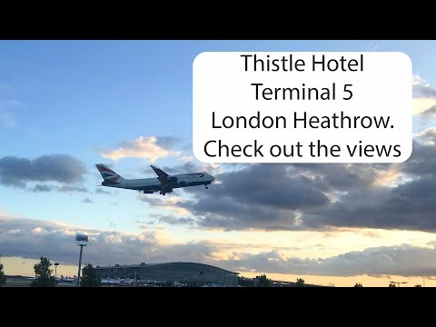 Thistle Hotel London Heathrow Terminal 5 Hotel & Room Review