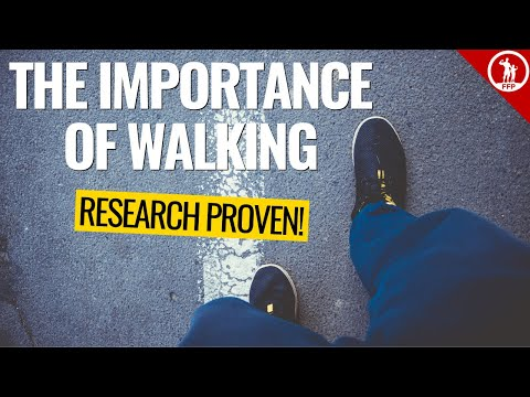 The Importance Of Walking → Improve Your Overall Health
