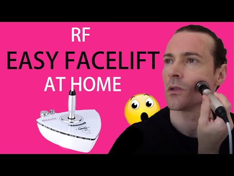 Amazing RF Skin Tightening Face Lift At Home; It Works!