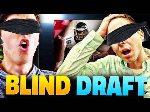 THE BLIND DRAFT AND PLAY PRANK! MADDEN 16 DRAFT CHAMPIONS VS TDPRESENTS