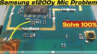 Samsung e1200y Mic Not Working Problem Solution