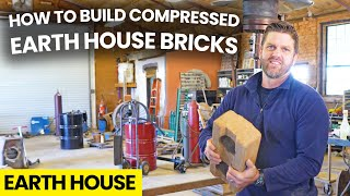 How to Build a EAŔTH HOUSE with COMPRESSED EARTH BLOCKS / BRICKS