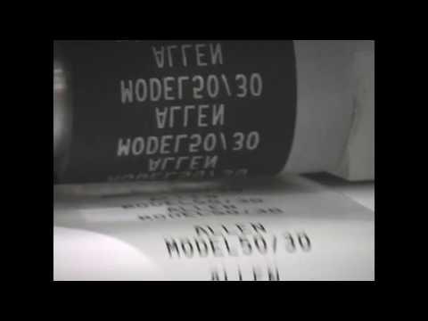 Allen 5030 Super Compact Hot Foil Coder