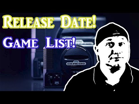 Sega Genesis Mini Release date and Game List! thumbnail