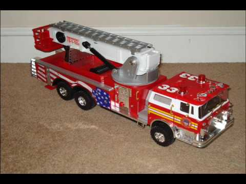Fire Truck Christmas Lights