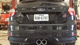 st focus exhaust magnaflow catback 1st 5th acceleration turbo