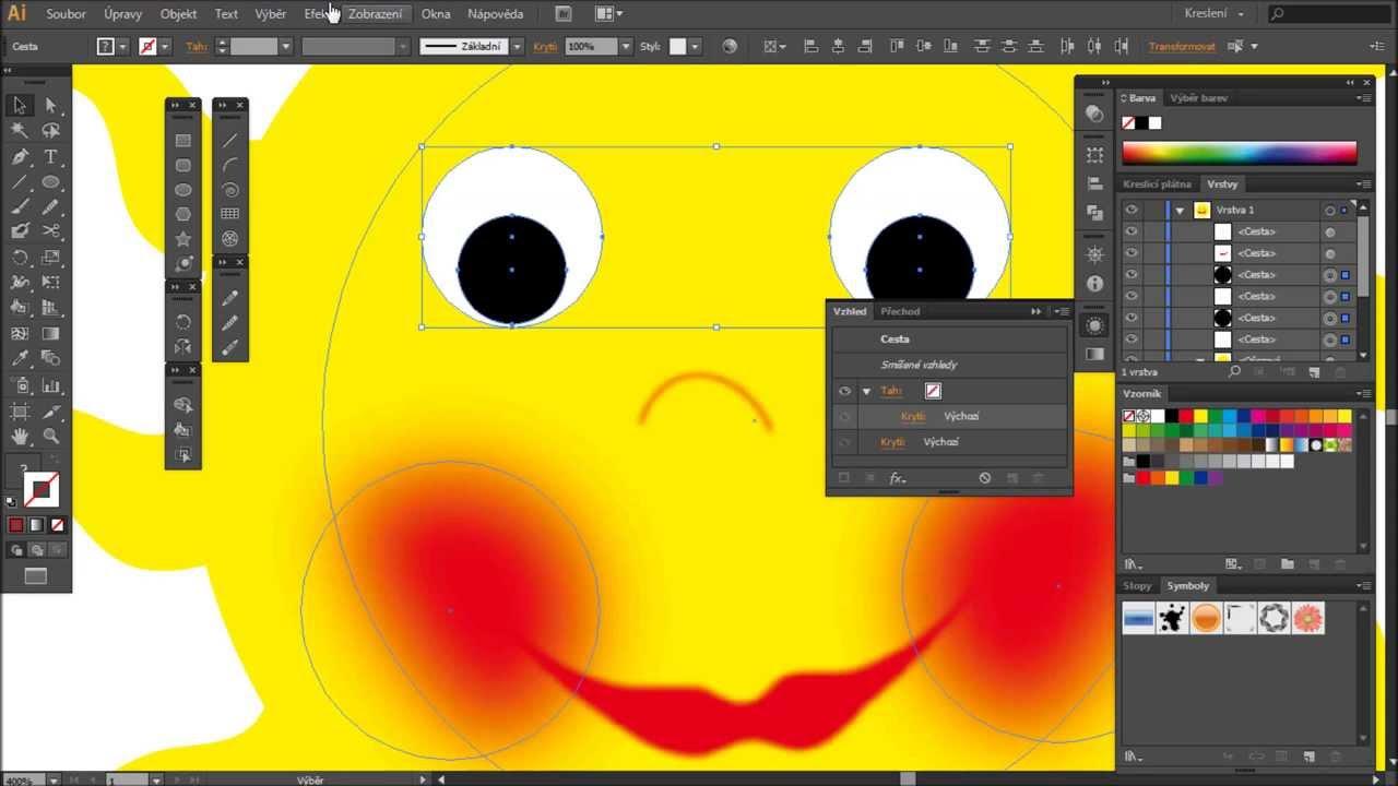 Zaciname V Programu Adobe Illustrator Cviceni 06 Rezimy Kresleni
